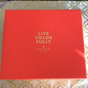 New Kate Spade Live Color Fully Gift Set